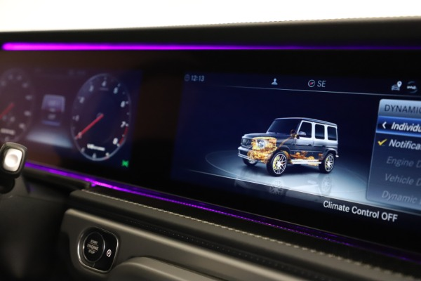 Used 2021 Mercedes-Benz G-Class AMG G 63 for sale $219,900 at Alfa Romeo of Westport in Westport CT 06880 24
