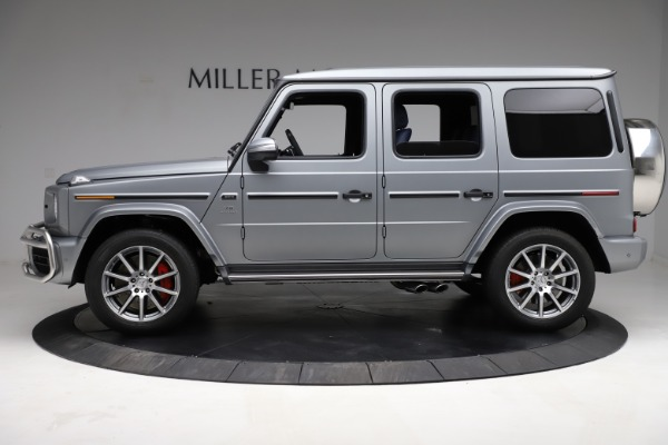 Used 2021 Mercedes-Benz G-Class AMG G 63 for sale $219,900 at Alfa Romeo of Westport in Westport CT 06880 3
