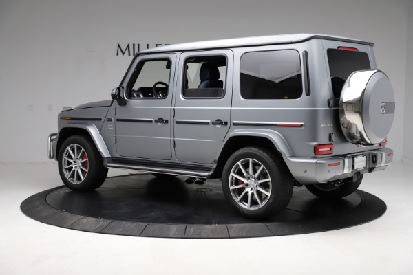 Used 2021 Mercedes-Benz G-Class AMG G 63 for sale $219,900 at Alfa Romeo of Westport in Westport CT 06880 4