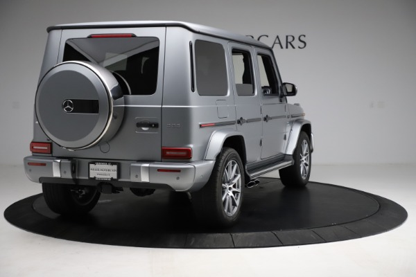 Used 2021 Mercedes-Benz G-Class AMG G 63 for sale $219,900 at Alfa Romeo of Westport in Westport CT 06880 7