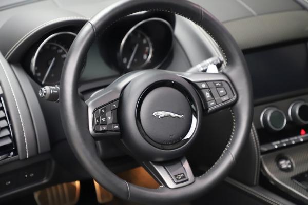 Used 2016 Jaguar F-TYPE Project 7 for sale $225,900 at Alfa Romeo of Westport in Westport CT 06880 27