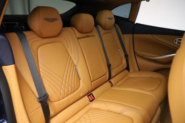 New 2021 Aston Martin DBX for sale $205,386 at Alfa Romeo of Westport in Westport CT 06880 22