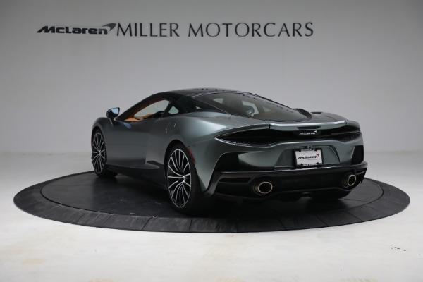 New 2021 McLaren GT LUXE for sale $214,005 at Alfa Romeo of Westport in Westport CT 06880 5