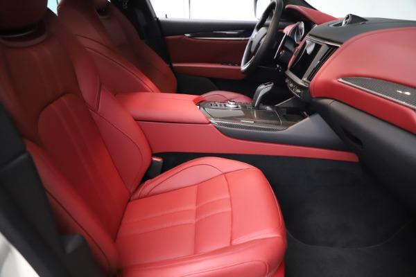 New 2021 Maserati Levante Q4 GranSport for sale $96,235 at Alfa Romeo of Westport in Westport CT 06880 21