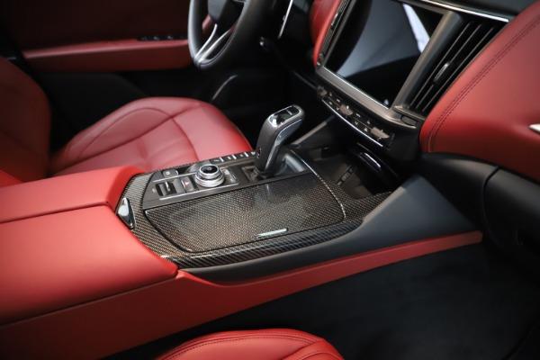 New 2021 Maserati Levante Q4 GranSport for sale $96,235 at Alfa Romeo of Westport in Westport CT 06880 24