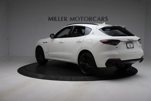 New 2021 Maserati Levante Q4 GranSport for sale $96,235 at Alfa Romeo of Westport in Westport CT 06880 4