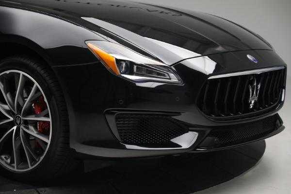 New 2021 Maserati Quattroporte S Q4 for sale $119,589 at Alfa Romeo of Westport in Westport CT 06880 13