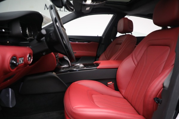 New 2021 Maserati Quattroporte S Q4 for sale $119,589 at Alfa Romeo of Westport in Westport CT 06880 19