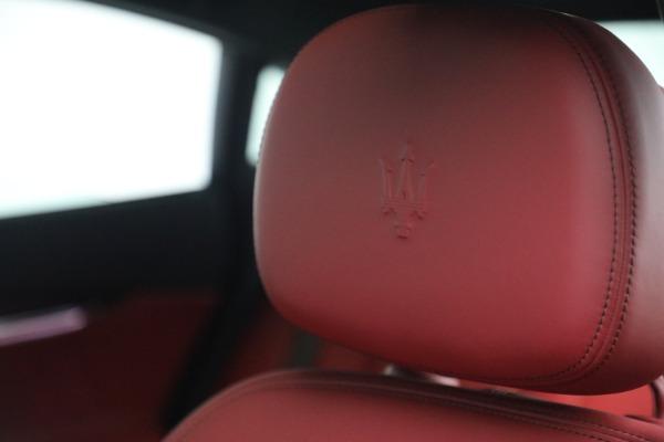 New 2021 Maserati Quattroporte S Q4 for sale $119,589 at Alfa Romeo of Westport in Westport CT 06880 21