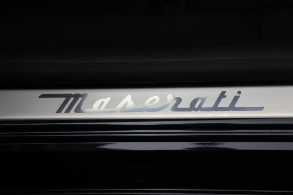 New 2021 Maserati Quattroporte S Q4 for sale $119,589 at Alfa Romeo of Westport in Westport CT 06880 22