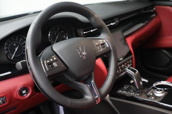 New 2021 Maserati Quattroporte S Q4 for sale $119,589 at Alfa Romeo of Westport in Westport CT 06880 23