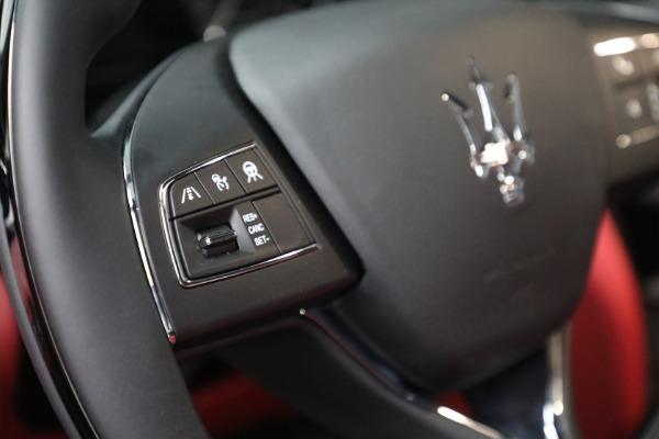 New 2021 Maserati Quattroporte S Q4 for sale $119,589 at Alfa Romeo of Westport in Westport CT 06880 24