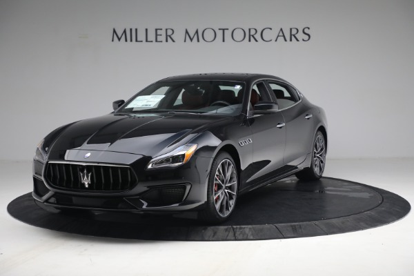 New 2021 Maserati Quattroporte S Q4 for sale $119,589 at Alfa Romeo of Westport in Westport CT 06880 1