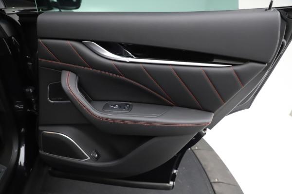 New 2021 Maserati Levante Q4 GranSport for sale $92,735 at Alfa Romeo of Westport in Westport CT 06880 25