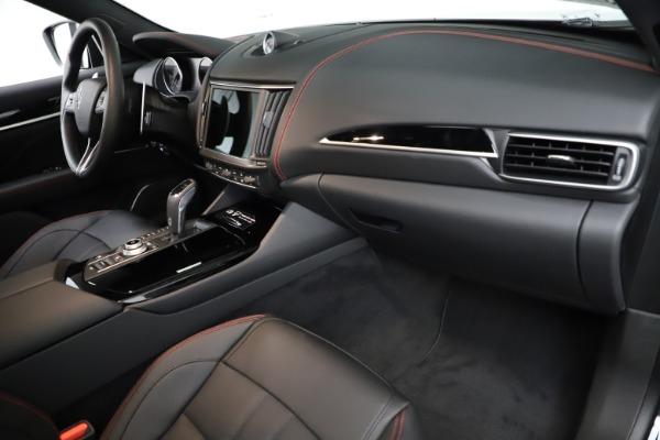 New 2021 Maserati Levante Q4 GranSport for sale $92,735 at Alfa Romeo of Westport in Westport CT 06880 22