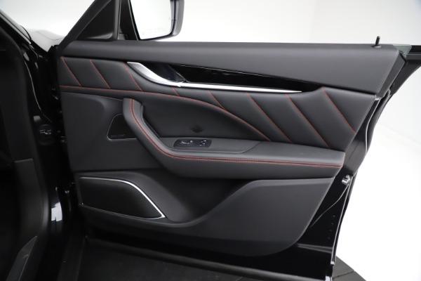 New 2021 Maserati Levante Q4 GranSport for sale $92,735 at Alfa Romeo of Westport in Westport CT 06880 24