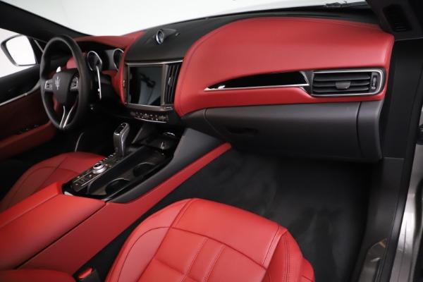 New 2021 Maserati Levante Q4 GranSport for sale $93,685 at Alfa Romeo of Westport in Westport CT 06880 21