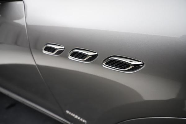 New 2021 Maserati Levante Q4 GranSport for sale $93,685 at Alfa Romeo of Westport in Westport CT 06880 25