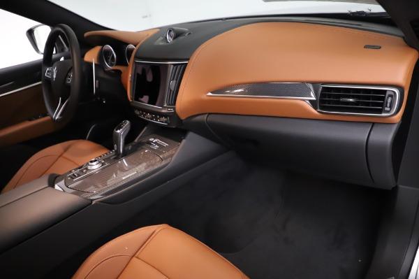 New 2021 Maserati Levante Q4 GranSport for sale $91,385 at Alfa Romeo of Westport in Westport CT 06880 22