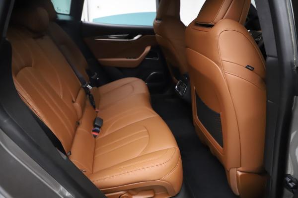 New 2021 Maserati Levante Q4 GranSport for sale $91,385 at Alfa Romeo of Westport in Westport CT 06880 26