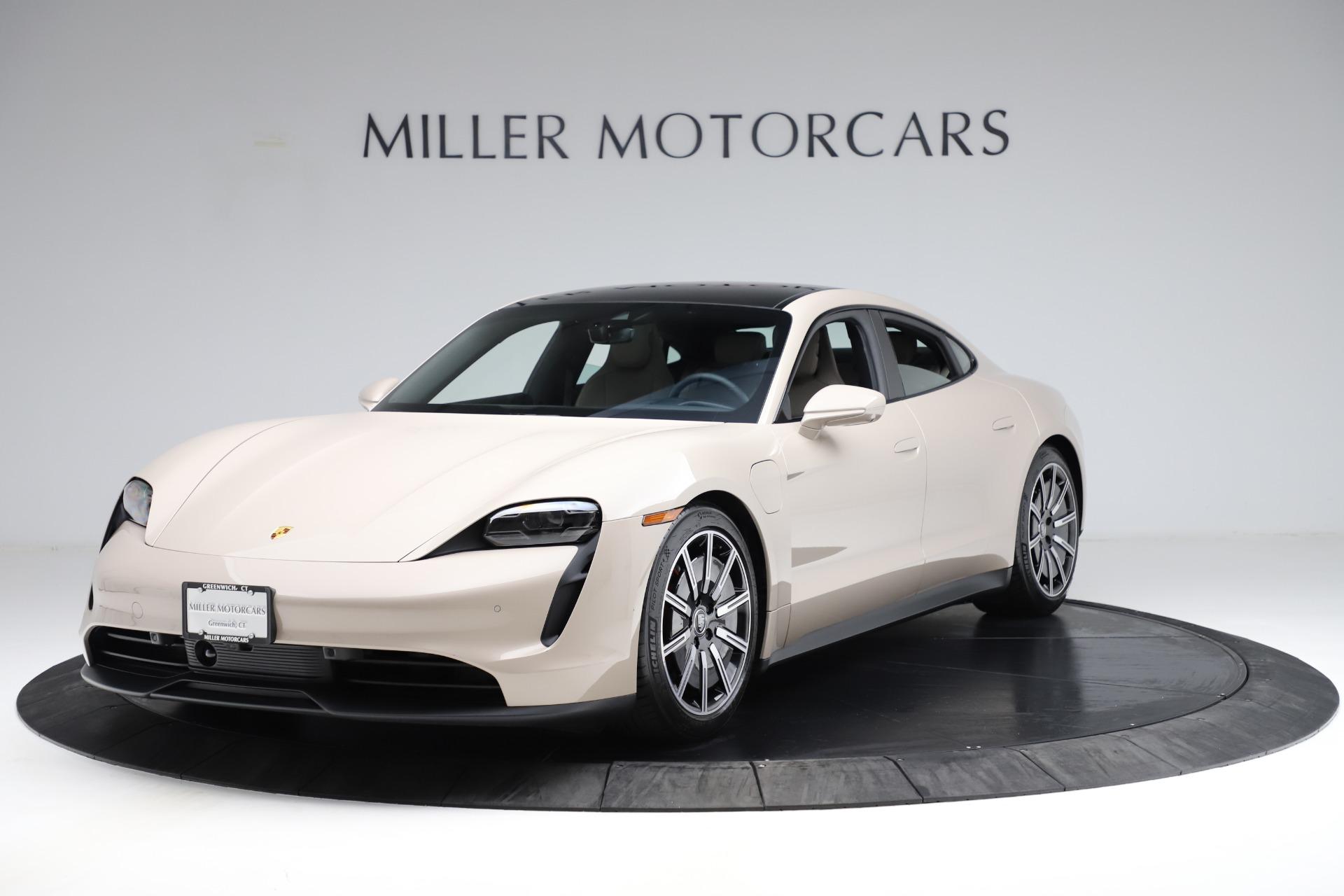 Used 2021 Porsche Taycan 4S for sale $125,900 at Alfa Romeo of Westport in Westport CT 06880 1