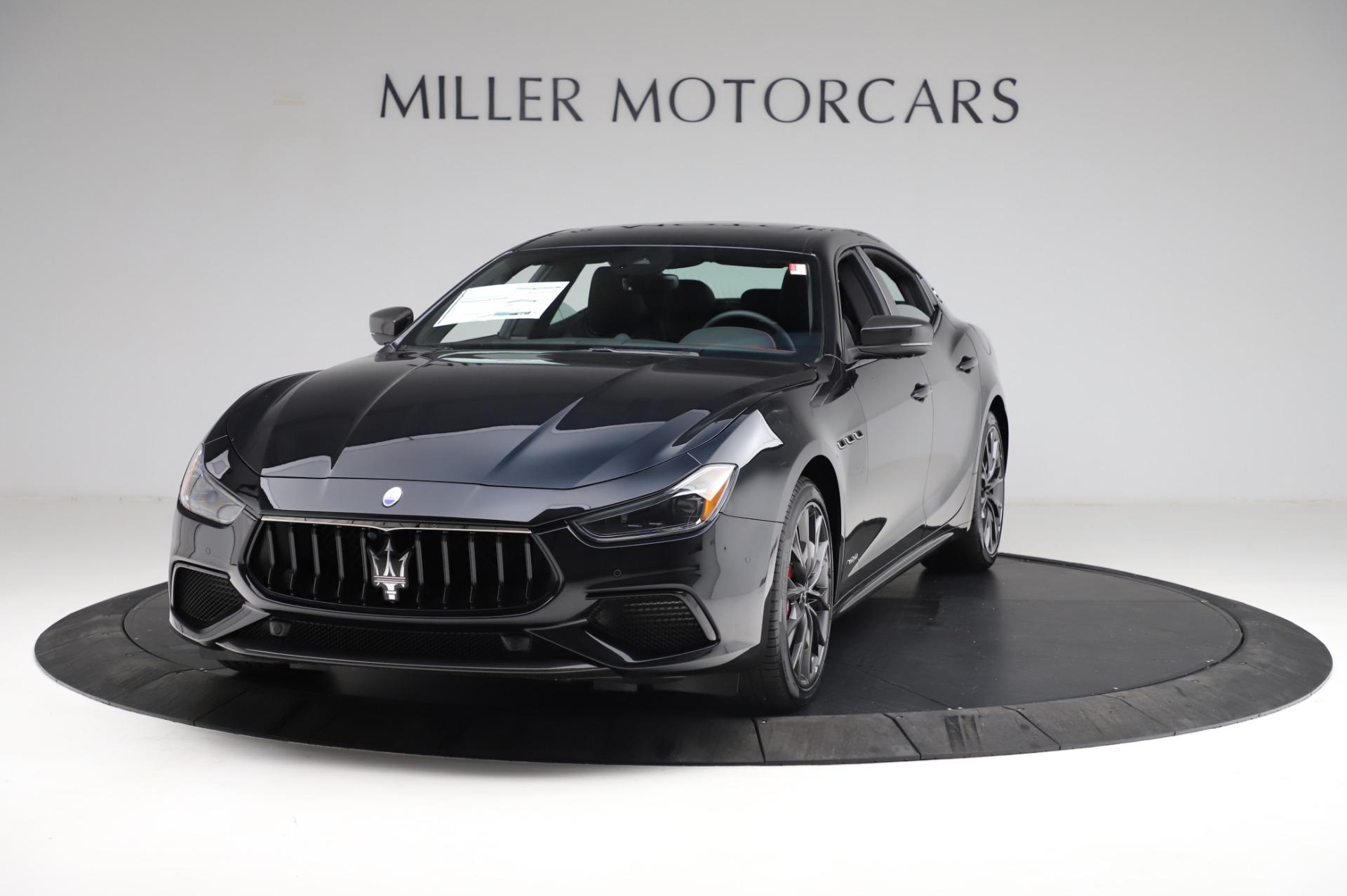 New 2021 Maserati Ghibli S Q4 GranSport for sale $100,635 at Alfa Romeo of Westport in Westport CT 06880 1