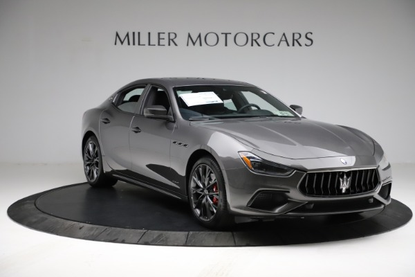 New 2021 Maserati Ghibli S Q4 GranSport for sale $100,635 at Alfa Romeo of Westport in Westport CT 06880 11