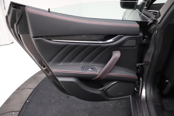 New 2021 Maserati Ghibli S Q4 GranSport for sale $100,635 at Alfa Romeo of Westport in Westport CT 06880 21