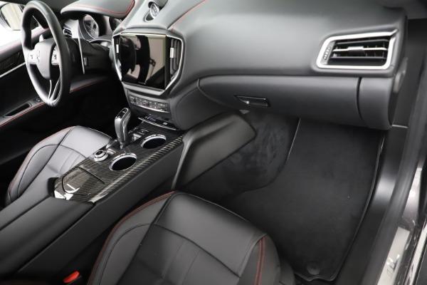 New 2021 Maserati Ghibli S Q4 GranSport for sale $100,635 at Alfa Romeo of Westport in Westport CT 06880 22