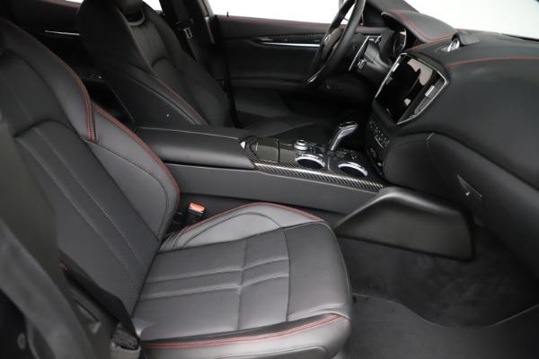 New 2021 Maserati Ghibli S Q4 GranSport for sale $100,635 at Alfa Romeo of Westport in Westport CT 06880 23