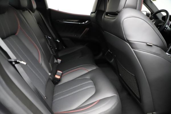 New 2021 Maserati Ghibli S Q4 GranSport for sale $100,635 at Alfa Romeo of Westport in Westport CT 06880 25