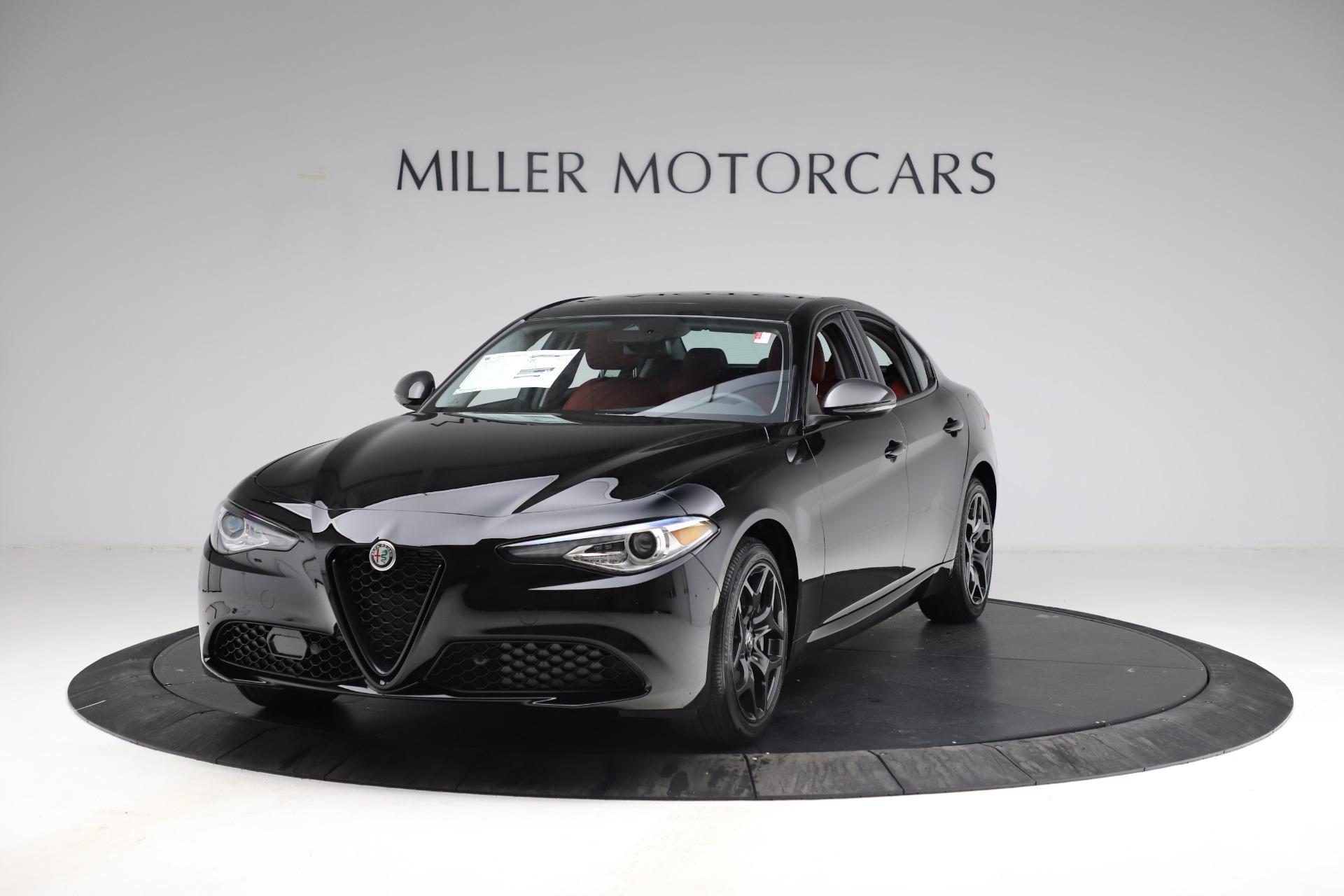 New 2021 Alfa Romeo Giulia Q4 for sale $48,535 at Alfa Romeo of Westport in Westport CT 06880 1