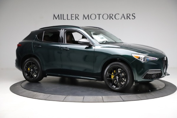 New 2021 Alfa Romeo Stelvio Ti Q4 for sale $53,650 at Alfa Romeo of Westport in Westport CT 06880 10