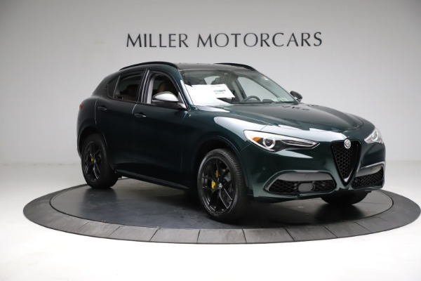 New 2021 Alfa Romeo Stelvio Ti Q4 for sale $53,650 at Alfa Romeo of Westport in Westport CT 06880 11