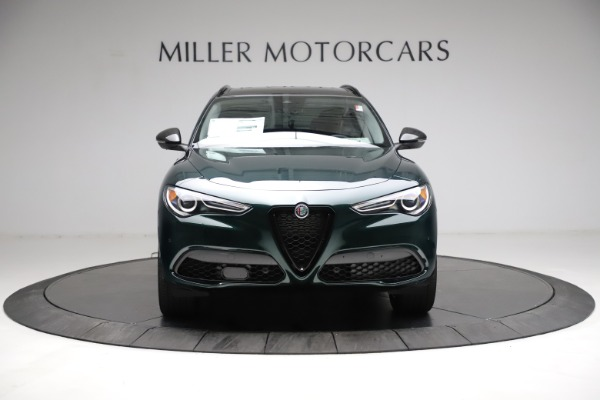 New 2021 Alfa Romeo Stelvio Ti Q4 for sale $53,650 at Alfa Romeo of Westport in Westport CT 06880 12