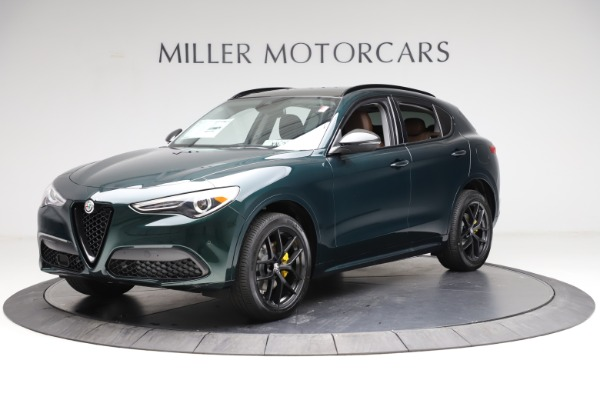 New 2021 Alfa Romeo Stelvio Ti Q4 for sale $53,650 at Alfa Romeo of Westport in Westport CT 06880 2