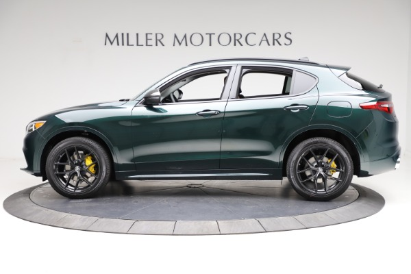 New 2021 Alfa Romeo Stelvio Ti Q4 for sale $53,650 at Alfa Romeo of Westport in Westport CT 06880 3