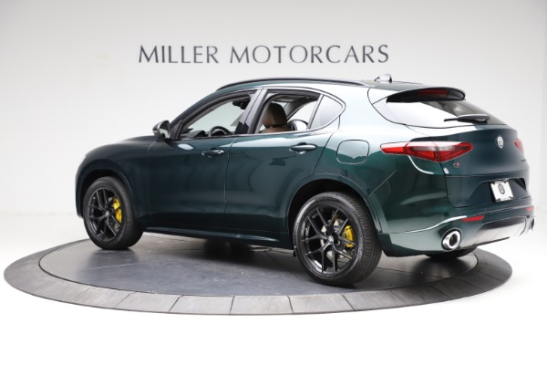 New 2021 Alfa Romeo Stelvio Ti Q4 for sale $53,650 at Alfa Romeo of Westport in Westport CT 06880 4