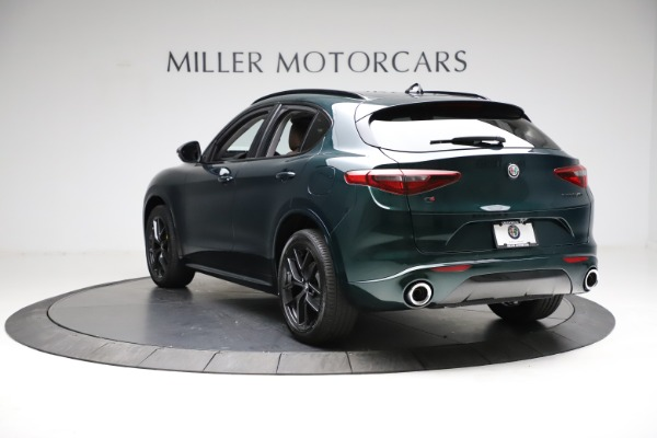 New 2021 Alfa Romeo Stelvio Ti Q4 for sale $53,650 at Alfa Romeo of Westport in Westport CT 06880 5