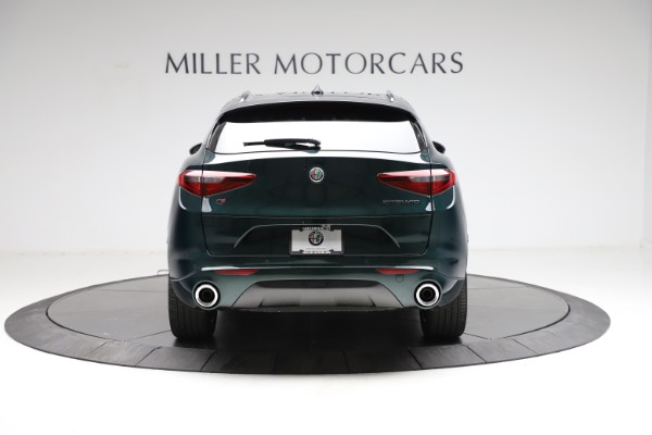 New 2021 Alfa Romeo Stelvio Ti Q4 for sale $53,650 at Alfa Romeo of Westport in Westport CT 06880 6