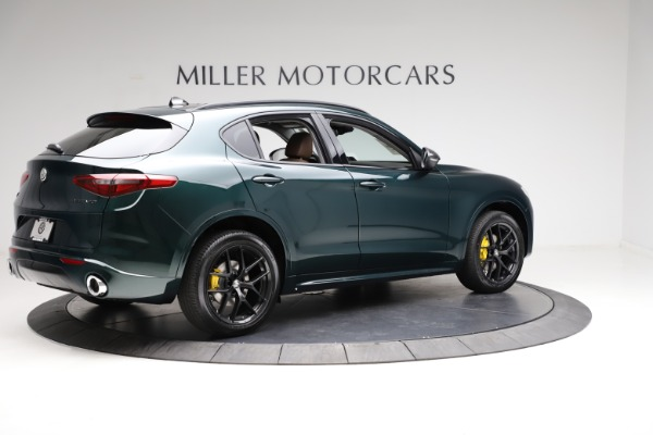 New 2021 Alfa Romeo Stelvio Ti Q4 for sale $53,650 at Alfa Romeo of Westport in Westport CT 06880 8