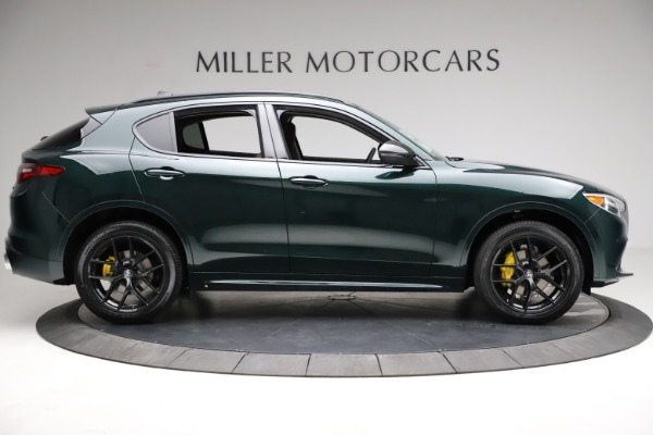 New 2021 Alfa Romeo Stelvio Ti Q4 for sale $53,650 at Alfa Romeo of Westport in Westport CT 06880 9