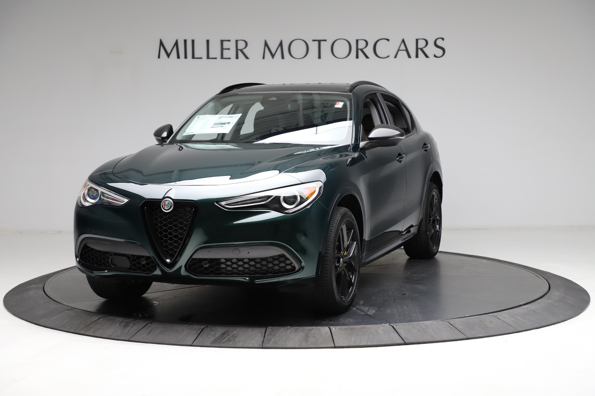 New 2021 Alfa Romeo Stelvio Ti Q4 for sale $53,650 at Alfa Romeo of Westport in Westport CT 06880 1