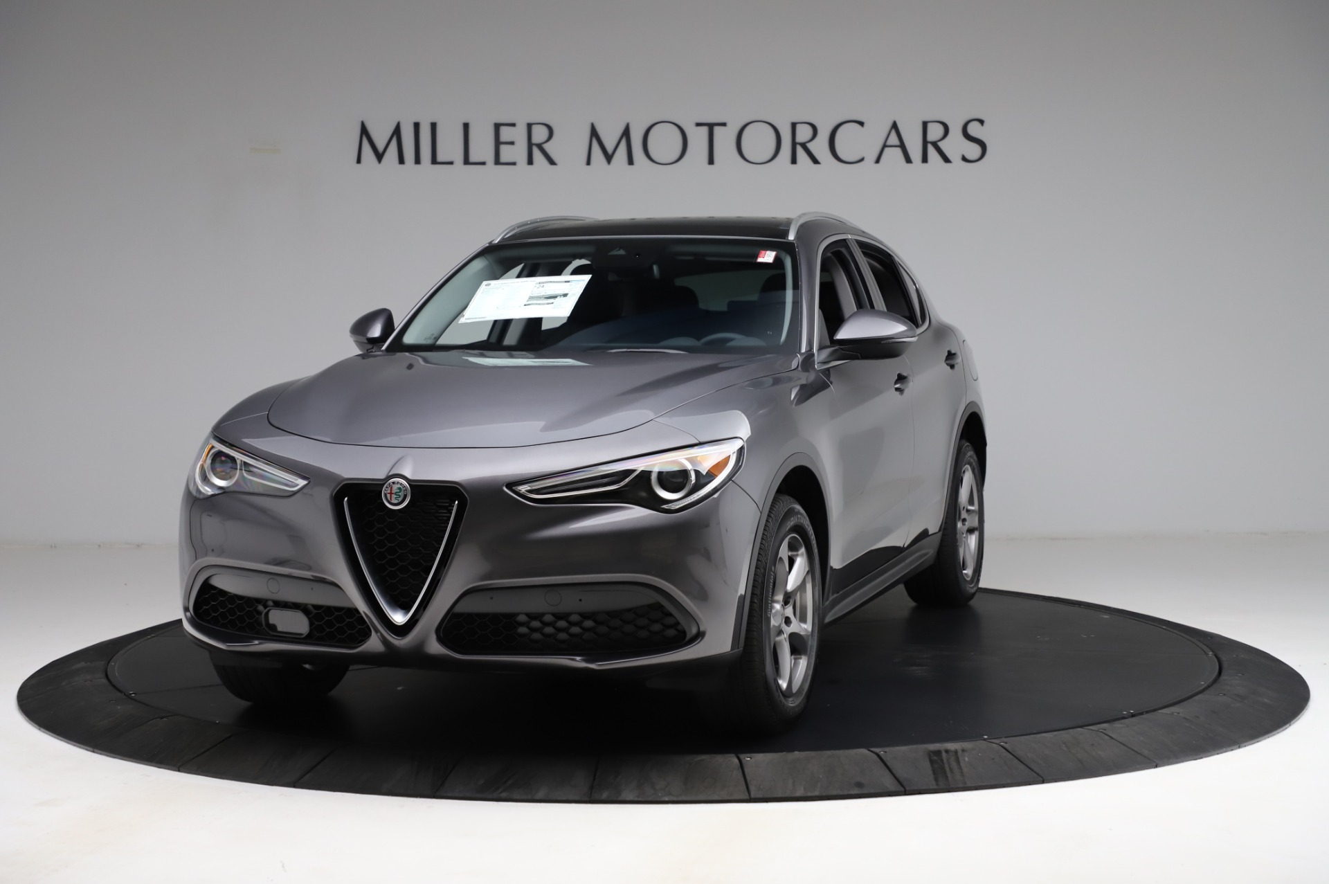 New 2021 Alfa Romeo Stelvio Q4 for sale $48,900 at Alfa Romeo of Westport in Westport CT 06880 1