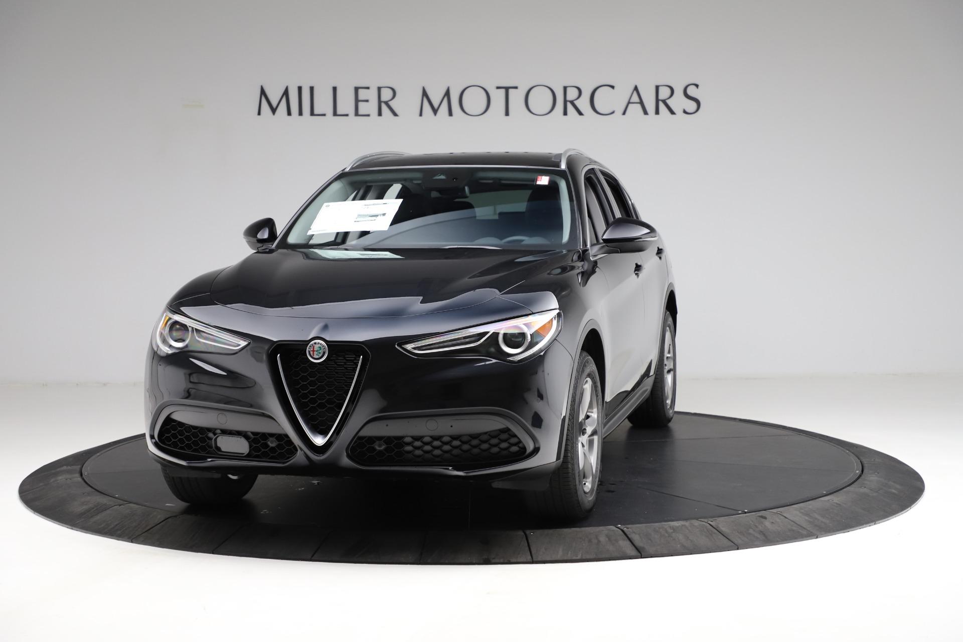 New 2021 Alfa Romeo Stelvio Q4 for sale $50,245 at Alfa Romeo of Westport in Westport CT 06880 1