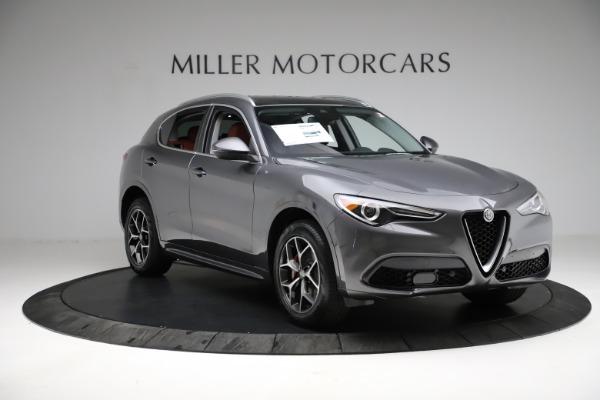 New 2021 Alfa Romeo Stelvio Ti Q4 for sale $55,500 at Alfa Romeo of Westport in Westport CT 06880 12