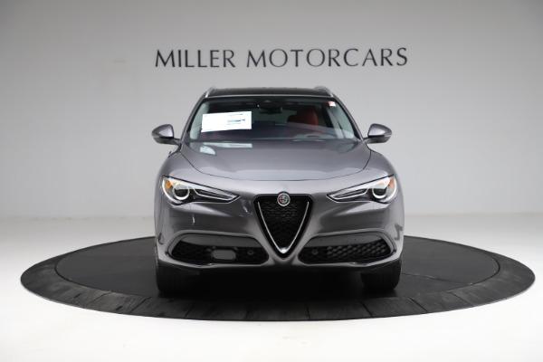 New 2021 Alfa Romeo Stelvio Ti Q4 for sale $55,500 at Alfa Romeo of Westport in Westport CT 06880 13