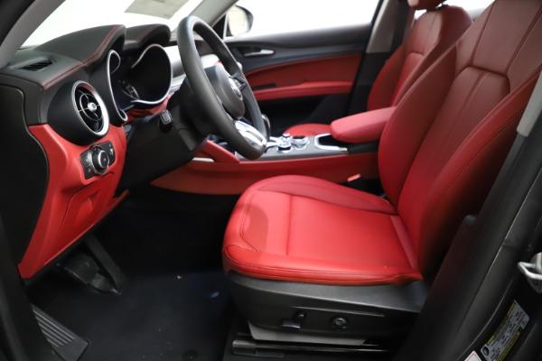 New 2021 Alfa Romeo Stelvio Ti Q4 for sale $55,500 at Alfa Romeo of Westport in Westport CT 06880 16