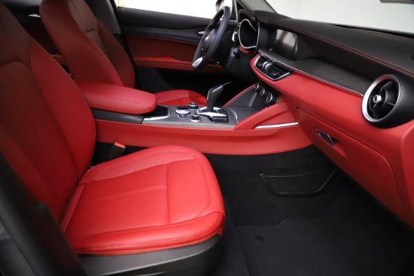 New 2021 Alfa Romeo Stelvio Ti Q4 for sale $55,500 at Alfa Romeo of Westport in Westport CT 06880 22