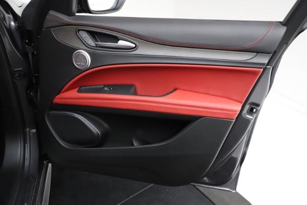 New 2021 Alfa Romeo Stelvio Ti Q4 for sale $55,500 at Alfa Romeo of Westport in Westport CT 06880 23